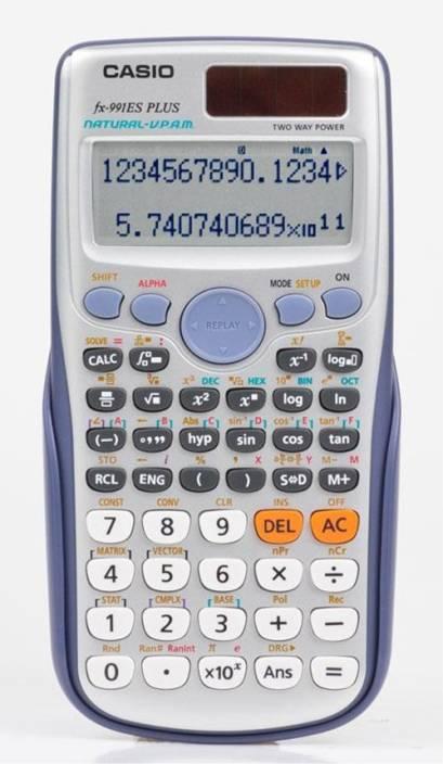 Calculator casio casio fx-991es plus scientific calculator.