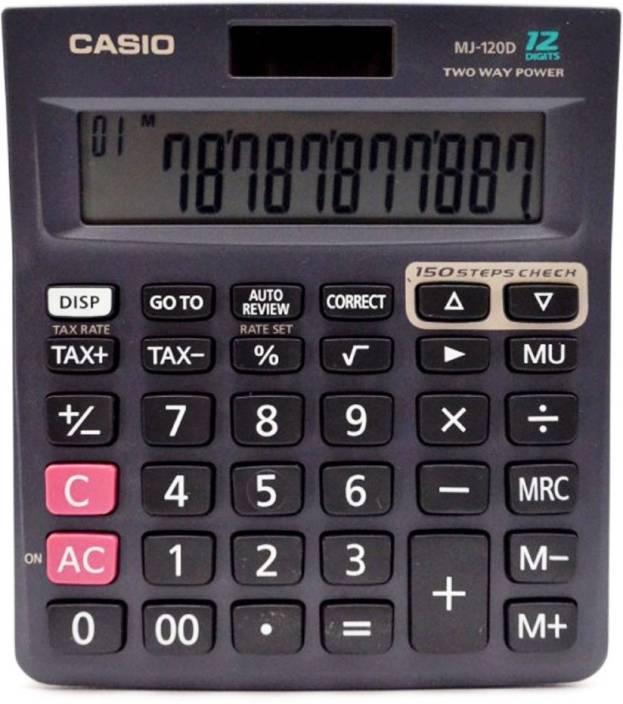 Casio MJ 120 Da Basic  Calculator