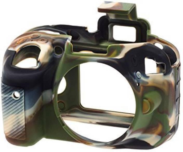 easyCover EasyCover ECND3300C Silicone Camera Case for Nikon D3300/3400 (Camouflage) Camera Bag