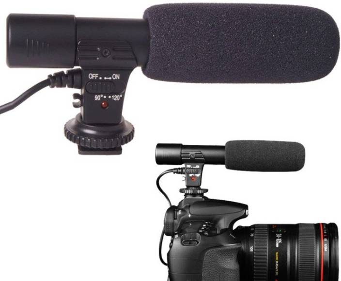 SRK MIC 01 FOR DSLR CANON Camera Microphone