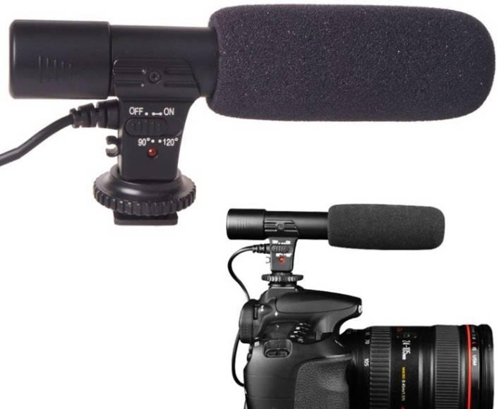 SRK MIC 01 FOR DSLR CANON Camera Microphone