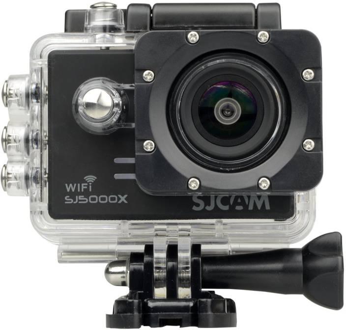 Mobilegear Gyro Anti-Shake 4K HD Waterproof Digital Camcorder With Accessories SJCAM sj5000 X Elite Sports & Action Camera