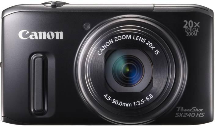 Canon SX240 HS Point & Shoot Camera