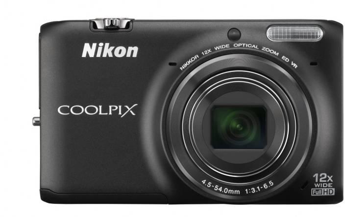 Nikon S6500 Advanced Point & Shoot Camera