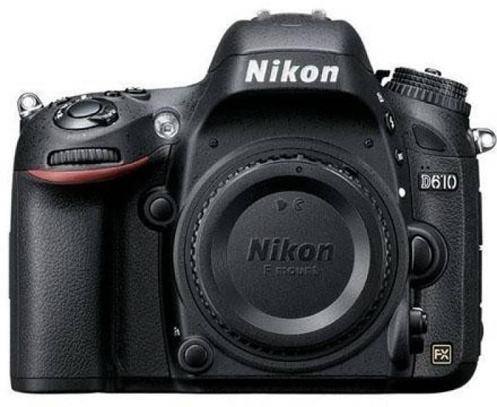 Nikon D610 (Body only) DSLR Camera