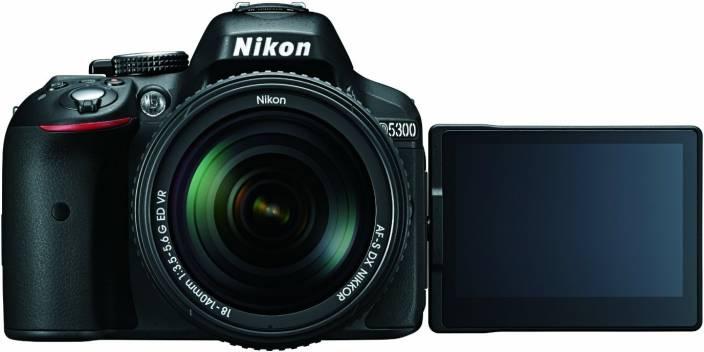 Nikon D5300 Body with Single Lens: AF-S 18-140mm VR (16 GB SD Card + Camera Bag) DSLR Camera