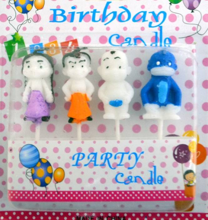 Priyals Party Decor Chhota Bheem Family Candle Price In India Buy