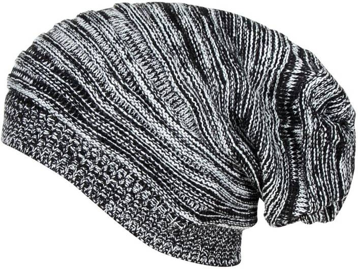 2e993d3bfd0 Gajraj Solid Knitted Beanie Cap - Buy Multicolor Gajraj Solid Knitted Beanie  Cap Online at Best Prices in India