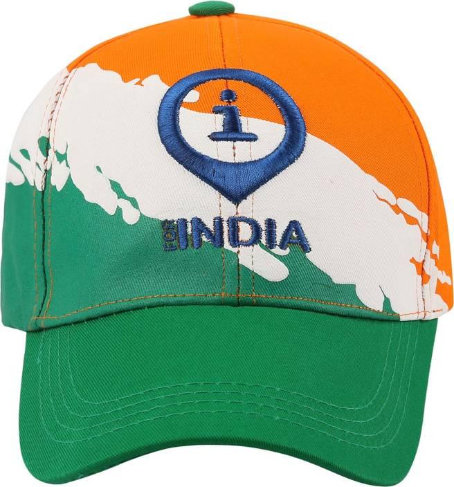eae346e6eea Imagica Self Design Imagica I For India Cap Cap - Buy Multicolor Imagica  Self Design Imagica I For India Cap Cap Online at Best Prices in India