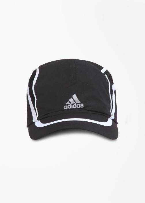 2aeee9eacd945 ADIDAS Running Climalite Solid Cap - Buy BLACK WHT REFSIL ADIDAS Running  Climalite Solid Cap Online at Best Prices in India