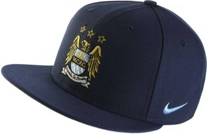 b945c9851 Nike Manchester City Unisex Snap Back Solid Training Cap - Buy Blue Nike  Manchester City Unisex Snap Back Solid Training Cap Online at Best Prices  in India ...