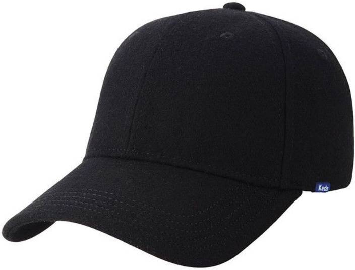 ALAMOS Solid Cool Black Plain Cap - Buy Black ALAMOS Solid Cool Black Plain  Cap Online at Best Prices in India  087a622417a