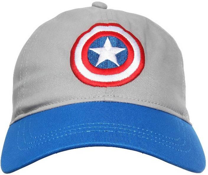 Kook N Keech Embroidered Captain America Cap