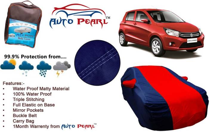 Auto Pearl Car Cover For Maruti Suzuki Celerio With Mirror Pockets