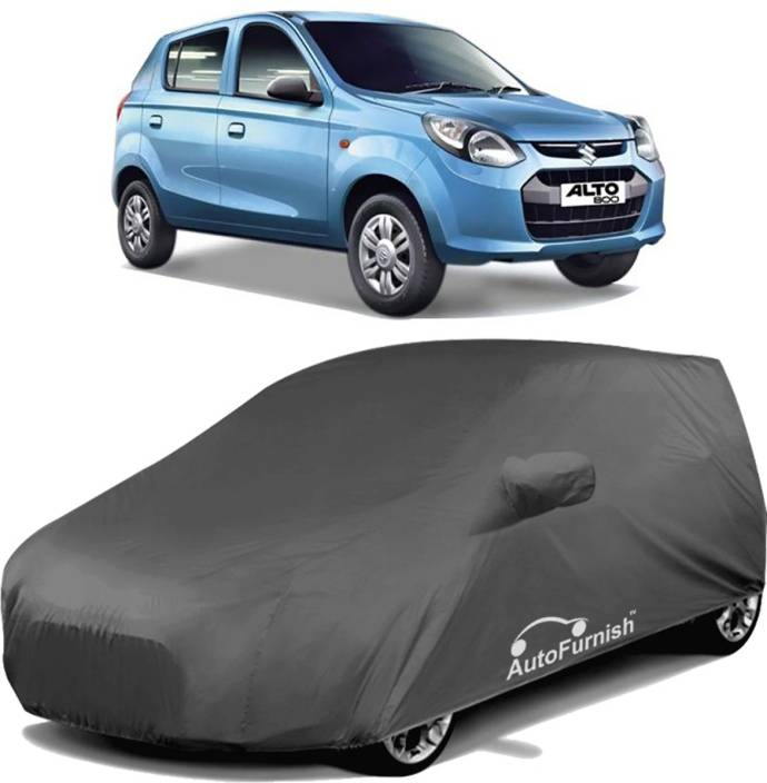 Autofurnish Car Cover For Maruti Suzuki Alto 800 (With Mirror Pockets)
