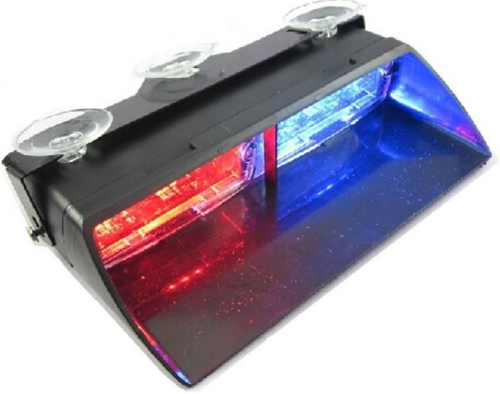 Police Led Lights >> Auto Hub 8 Led Police Light Car Fancy Lights