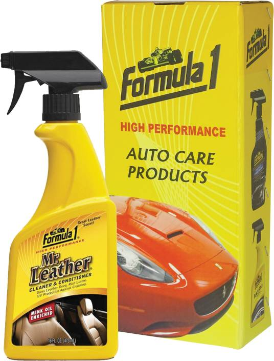 formula 1 mr leather conditioner spray 615163 vehicle interior cleaner price in india buy. Black Bedroom Furniture Sets. Home Design Ideas