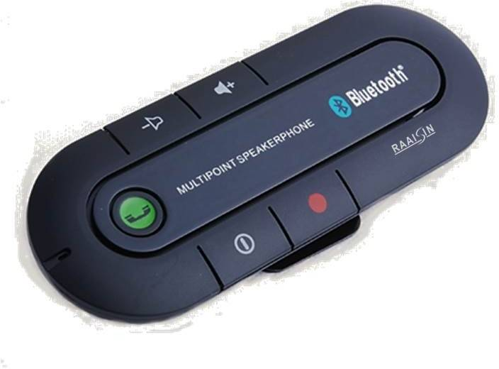 Raaisin v3.0 Car Bluetooth Device with Audio Receiver