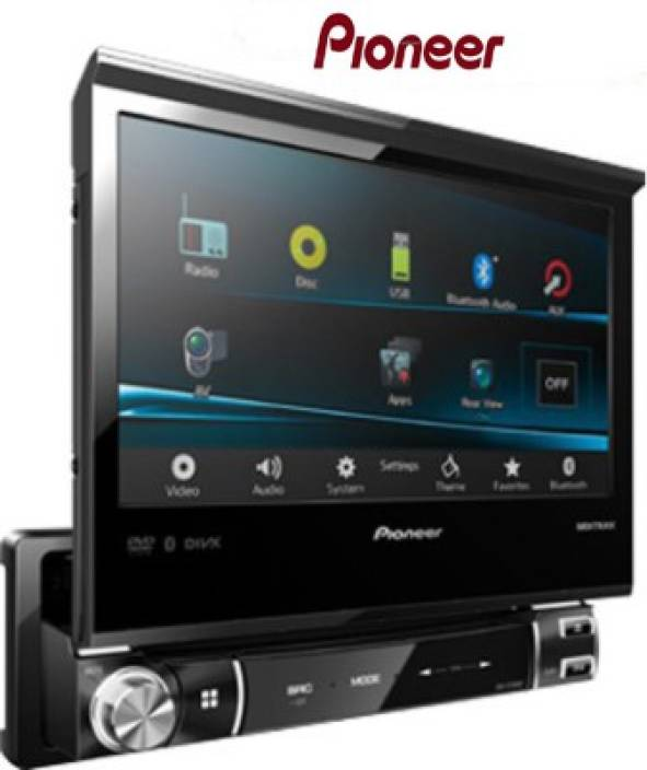 3aca22455 Pioneer 7 Inch DVD Touch Screen Multimedia Receiver AVH-X7550BT Car Stereo (Double  Din)