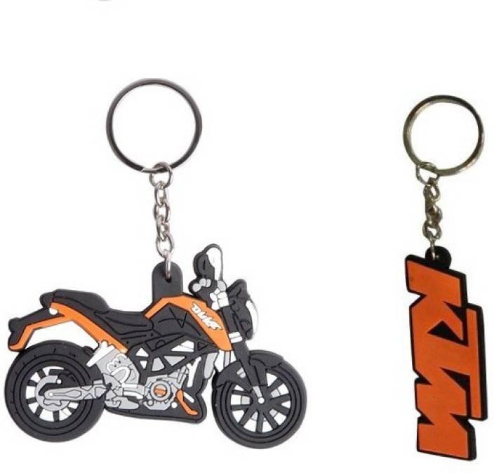 Chainz KTM Duke Bike Shaped and Duke 200 Key Chain