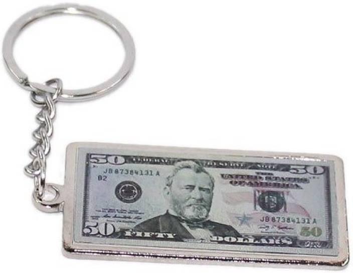 cb9e7cb799e0 Aura United States 50 Dollar Note Metal Key Chain - Buy Aura United ...