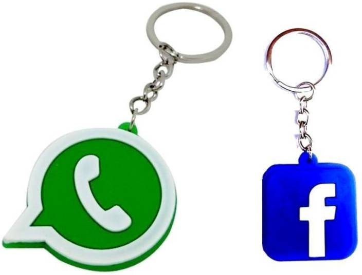 Shopchoice WHATSAPP AND FACEBOOK Key Chain Price in India - Buy Shopchoice  WHATSAPP AND FACEBOOK Key Chain online at Flipkart.com 847b70b52