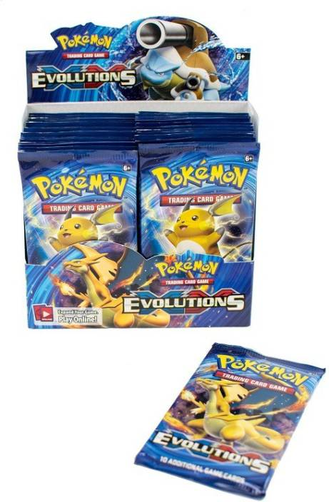 Switch Control Pokemon Cards Evolutions Booster Box