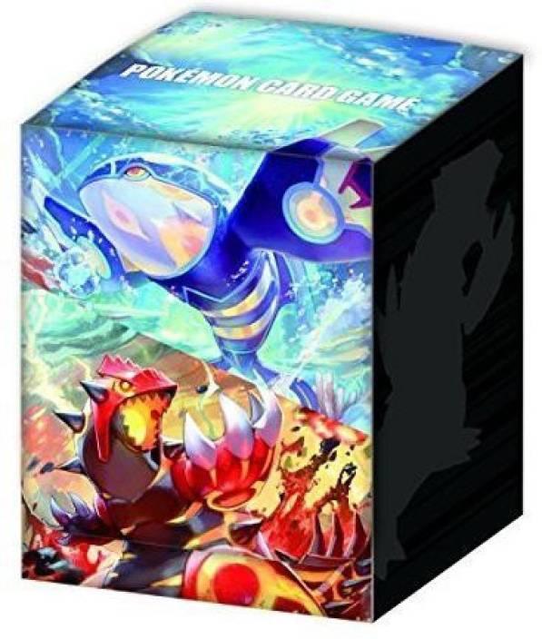 Pokemon Japanese Xy Kyogre & Groudon Deck Box New