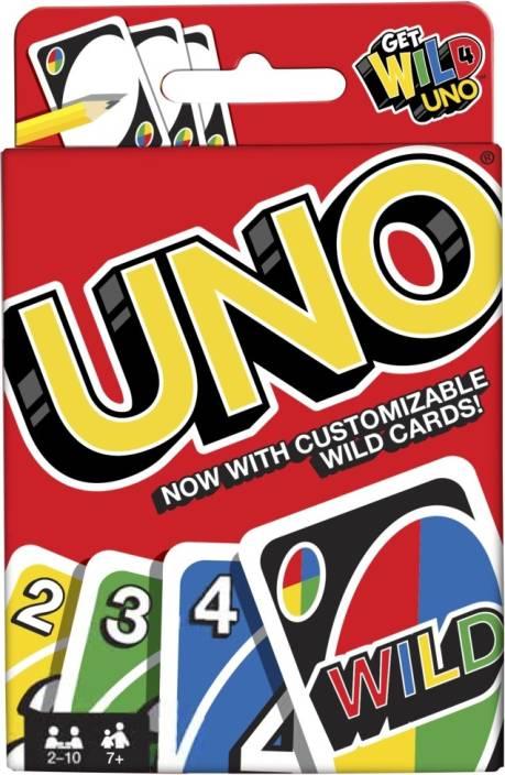 Mattel Games Uno Fast Fun For Everyone Uno Fast Fun For