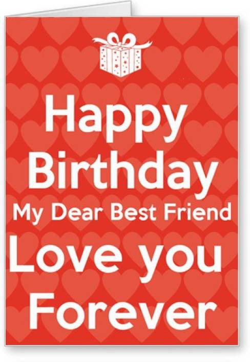 lolprint happy birthday best friend greeting card
