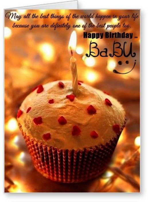 Lolprint happy birthday babu greeting card price in india buy lolprint happy birthday babu greeting card bookmarktalkfo Choice Image