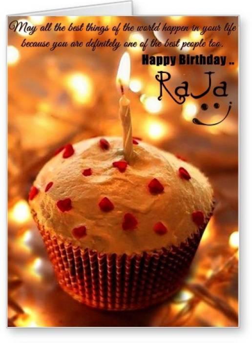 Lolprint Happy Birthday Raja Greeting Card Price In India Buy