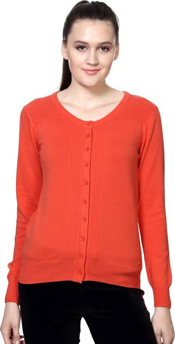 Ajile by Pantaloons Women s Button Solid Cardigan Price in India - Buy  Ajile by Pantaloons Women s Button Solid Cardigan online at Flipkart.com 7b446aaa7