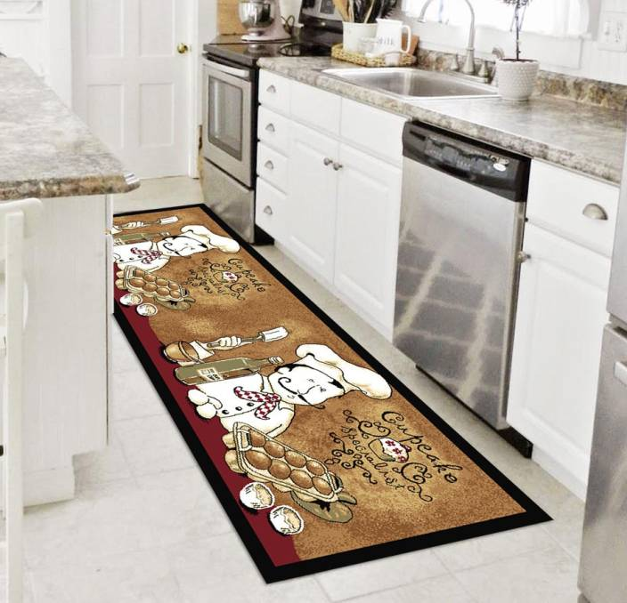 Status brown nylon area rug buy status brown nylon area rug online at best price in india - L shaped rugs kitchens ...