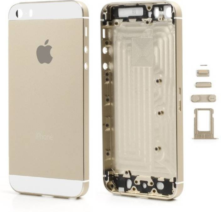 wholesale dealer dd454 ddae9 Sozira Back Replacement Cover for Apple Iphone 5S Housing Body Panels Gold