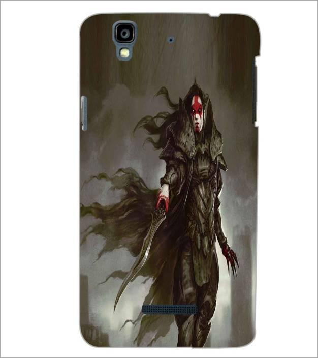 Printswag Back Cover for Yu Yureka Plus
