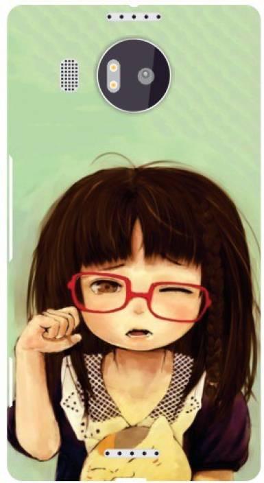 Printland Back Cover for Microsoft Lumia 950 XL