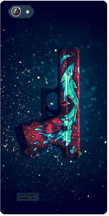 Amagav Back Cover for Lava X50