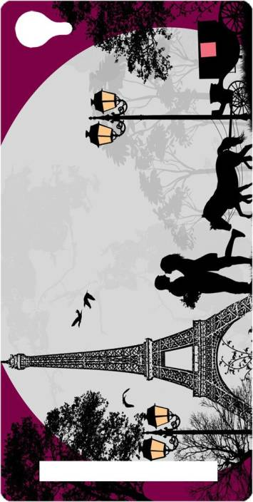 Ganesham Back Cover for Micromax Canvas Juice 4G Q461