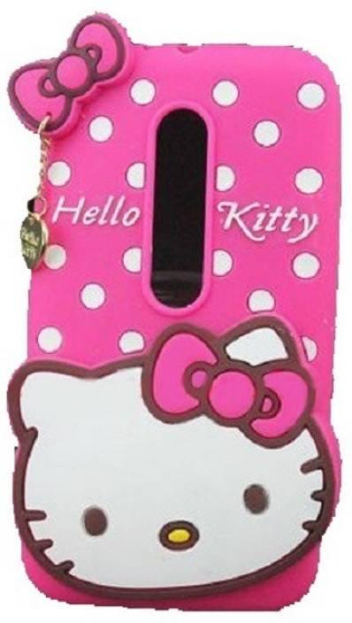 pretty nice 9ff56 ae104 Hello Kitty Back Cover for Motorola Moto G (4th Generation) Plus