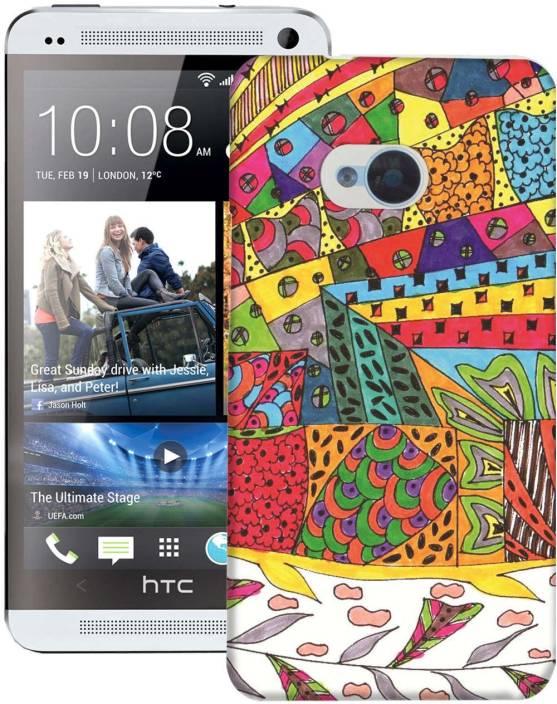 AmerakiDesignHouse Back Cover for HTC One M7 Single Sim
