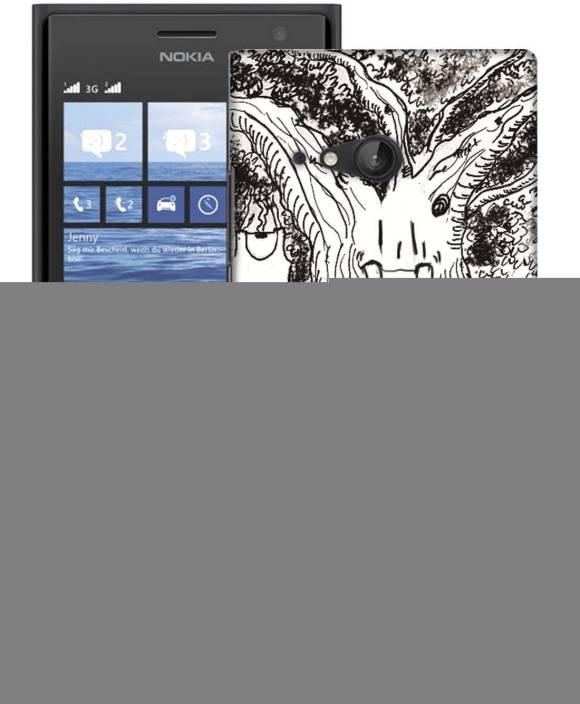 AmerakiDesignHouse Back Cover for Nokia 730