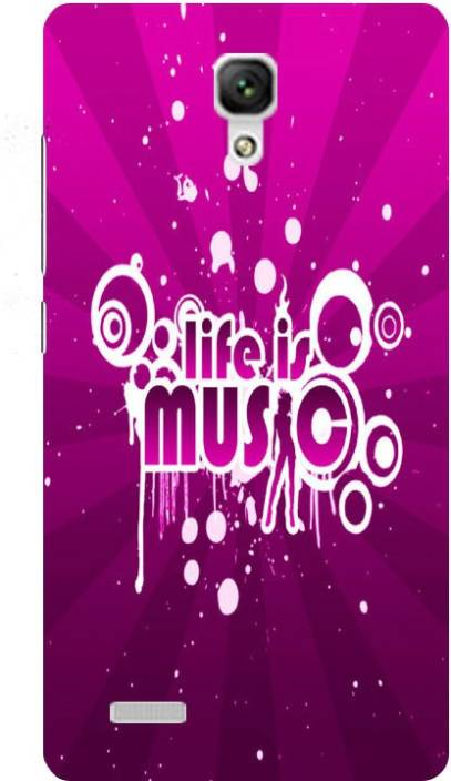Treecase Back Cover for Mi Redmi Note Prime