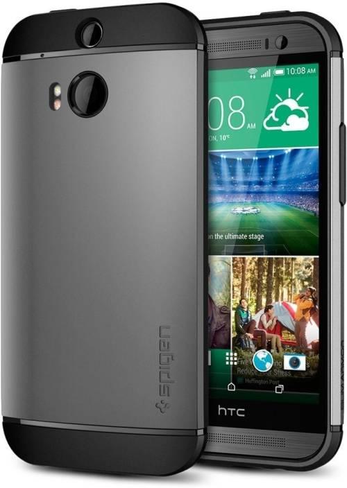 big sale cb64c 1e327 Spigen Back Cover for HTC One M8