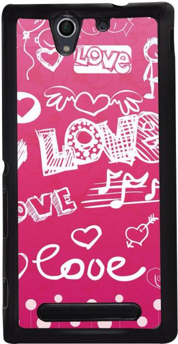 Sash Back Cover for Sony Xperia C3