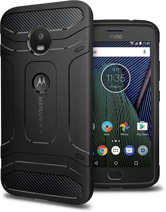buy online 27d27 d1b85 Kapaver Back Cover for Motorola Moto G5 Plus