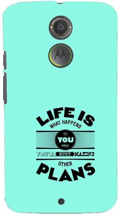 Mobile Makeup Back Cover for Motorola Moto X (2nd Generation)
