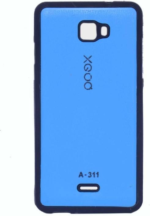 online store fd679 53efe XGOQ Back Cover for Micromax Canvas Nitro A311