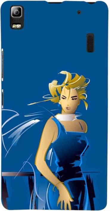 Mobile Makeup Back Cover for Lenovo K3 Note