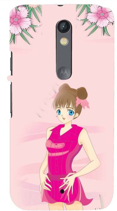 Mobile Makeup Back Cover for Motorola Moto X Style